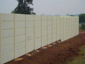 Pre Stressed Precast Compound Wall